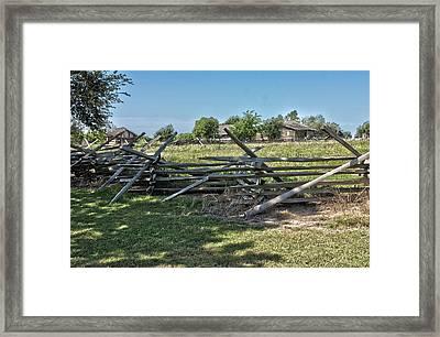 Ranch View1 Framed Print