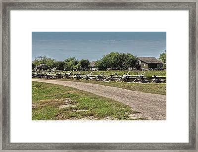 Ranch View3 Framed Print