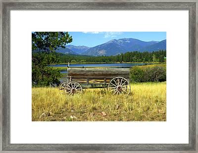 Ranch Wagon 3 Framed Print by Marty Koch