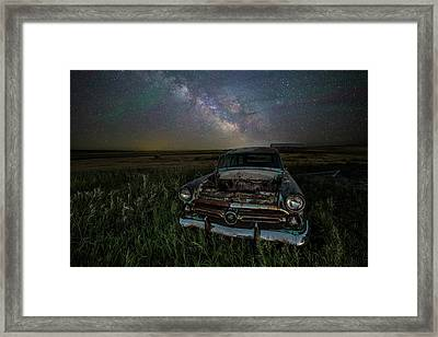 Ranch Wagon  Framed Print by Aaron J Groen