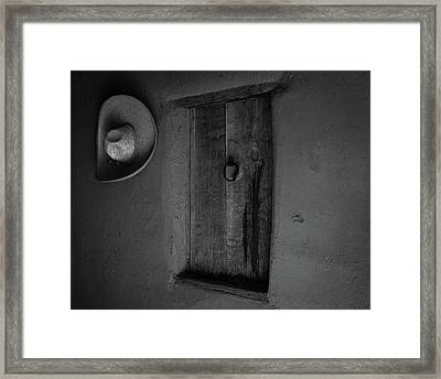 Rancho Antiguo Framed Print by Michael Osborne