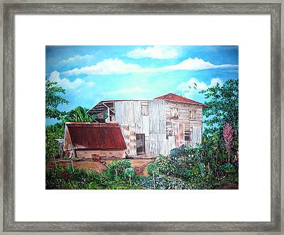Rancho Viejo Framed Print by Jose Lugo