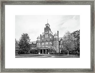 Randolph College Main Hall Framed Print by University Icons