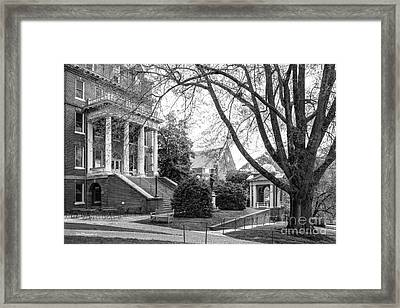 Randolph College Moore Hall Framed Print