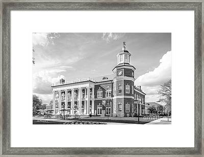 Randolph- Macon College Brock Commons Framed Print by University Icons