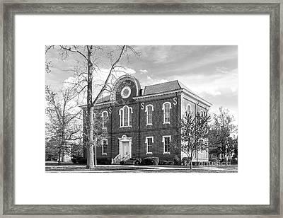 Randolph- Macon College Franklin Hall Framed Print