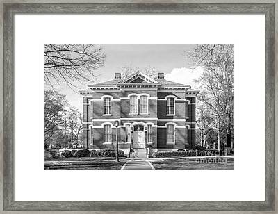 Randolph- Macon College Pace- Armistead Hall Framed Print