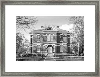 Randolph- Macon College Pace- Armistead Hall Framed Print by University Icons