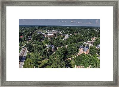 Randolph Macon College Framed Print by Tredegar DroneWorks