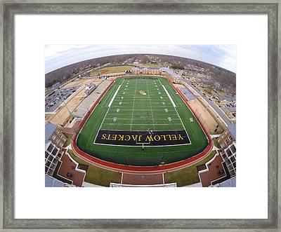 Randolph Macon Football Framed Print by Creative Dog Media