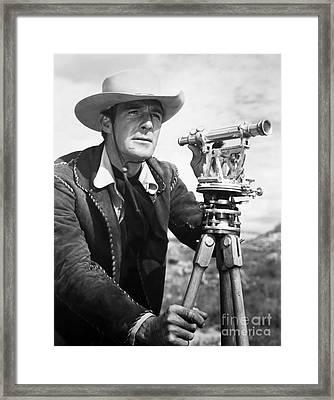 Randolph Scott (1898-1987) Framed Print by Granger