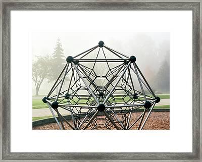 Random 763 Framed Print