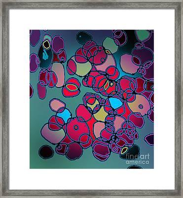 Random Cells  Framed Print by Andy  Mercer