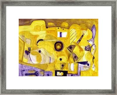 Random Landscape Framed Print