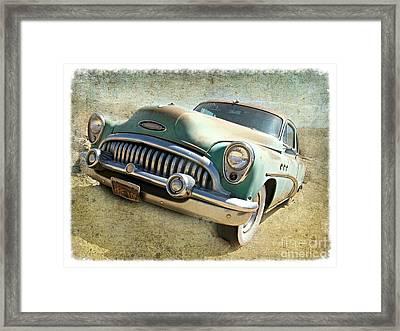 Randsburg Buick Framed Print