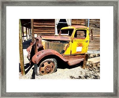 Randsburg Truck 1 Framed Print