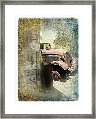 Randsburg Truck 3 Framed Print