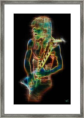 Randy Framed Print
