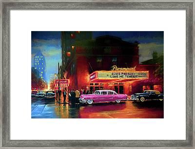 Randy R's Love Me Tender Framed Print