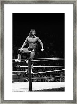 Randy Savage Framed Print
