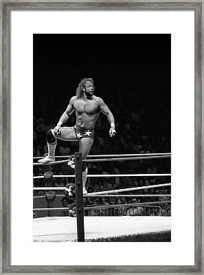 Randy Savage Framed Print