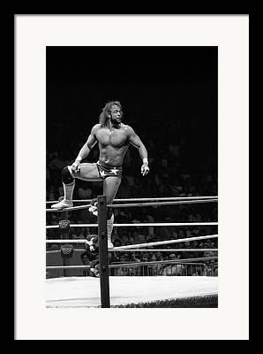 Randy Macho Man Savage Framed Prints