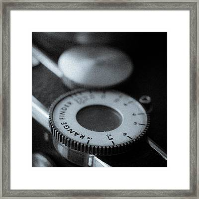 Range Finder Framed Print