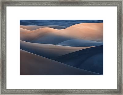 Range Of Colors Framed Print by Jure Kravanja