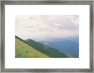 Range Of Mountains 2 Framed Print