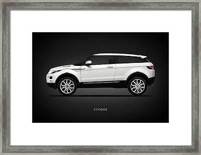 Range Rover Evoque Framed Print by Mark Rogan