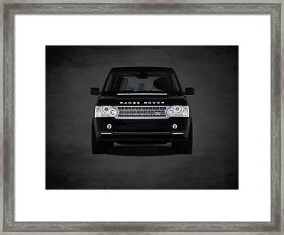 Range Rover Framed Print by Mark Rogan