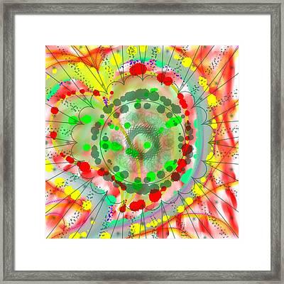 Rangeela Framed Print