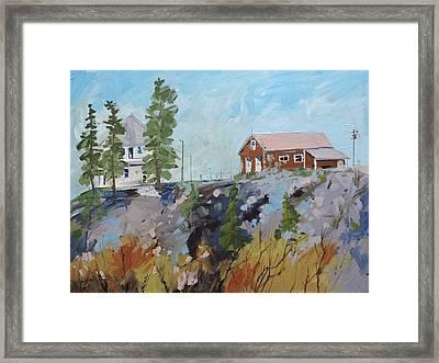 Ranger Buldings Framed Print