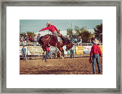Rank Ride Framed Print