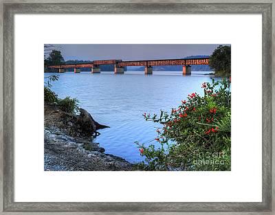 Rankin Bottoms Rr Bridge Framed Print