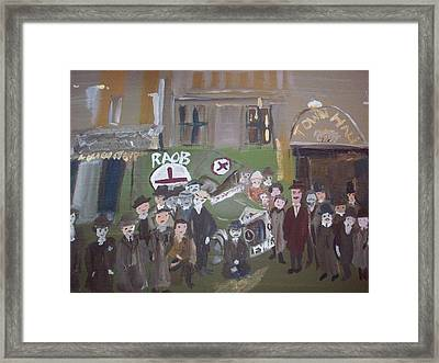 Raob Ambulance Framed Print by Judith Desrosiers