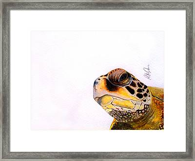 Framed Print featuring the drawing Raphael by Rita Silva
