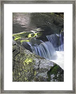 Rapids At Watkins Glen Framed Print