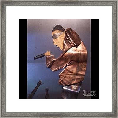Rapper Framed Print