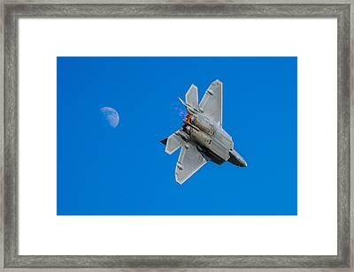 Raptor Moon Framed Print by Mark Goodman