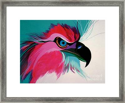 Raptor Rapture Framed Print