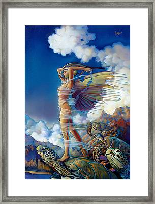 Rapture And The Ecstasea Framed Print