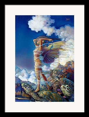 Imaginary Realism Framed Prints