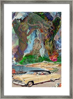 Rapture Framed Print by Dan Cope