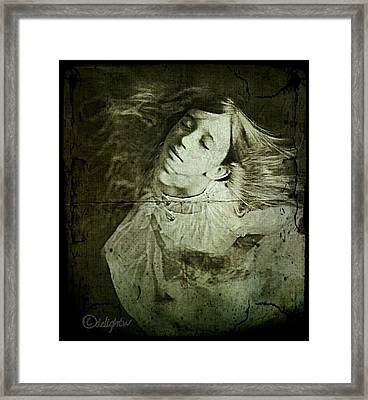 Framed Print featuring the digital art Rapture by Delight Worthyn