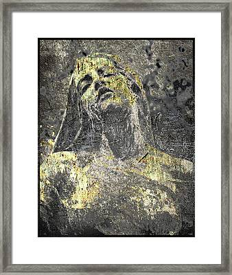 Rapture In Copper And Bronze Framed Print by Tony Rubino