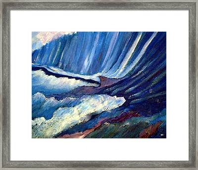 Rapture...is It Time Framed Print by Sherri's Of Palm Springs