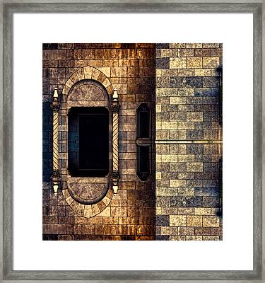 Rapunzel Was Here Framed Print by Wendy J St Christopher