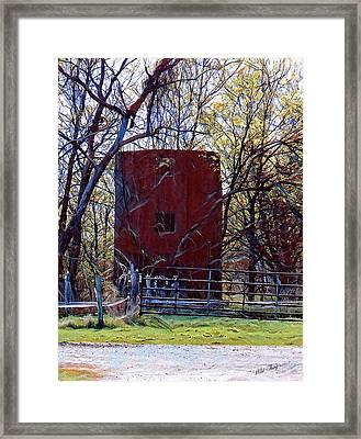 Rapunzel's Tower Framed Print by Wild Thing