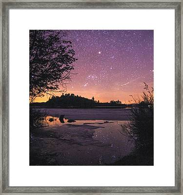 Raquette Lake Framed Print